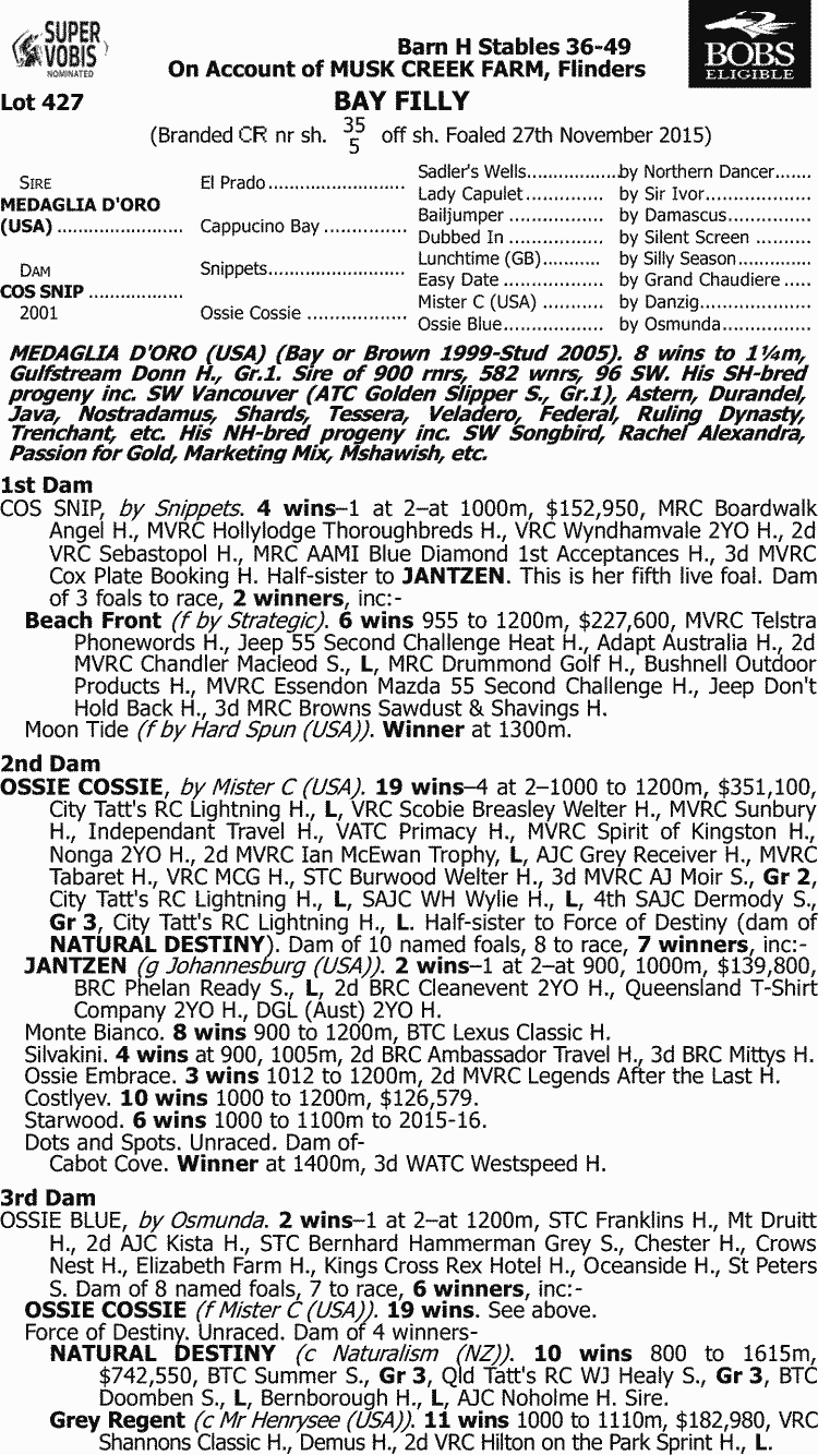 Inglis 2017 Melbourne Premier Yearling Sale Lot 427 Medaglia D Andersonbolds 240 Minute Analog Reset Timer Atc 305 Series Doro Usa X Cos Snip